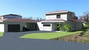 Plan de maison à étage Plans de maisons d'architecte