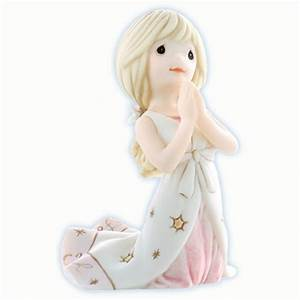 Girl Praying - Precious Moments Figurine, 830037 | Flossie ...