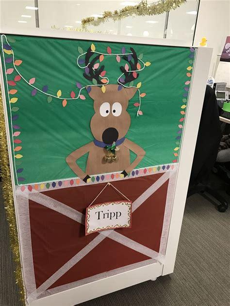 unique cubicle door ideas  pinterest holiday door