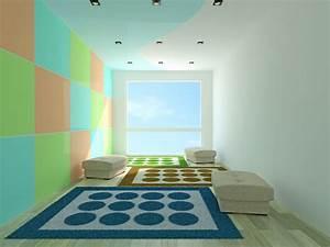 Holztreppe Streichen Welche Farbe : jugendzimmer streichen techniken und tipps ~ Michelbontemps.com Haus und Dekorationen