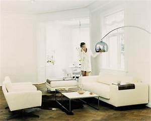 Lounge arc floor lamp bolia my home pinterest for Floor lamp placement in living room