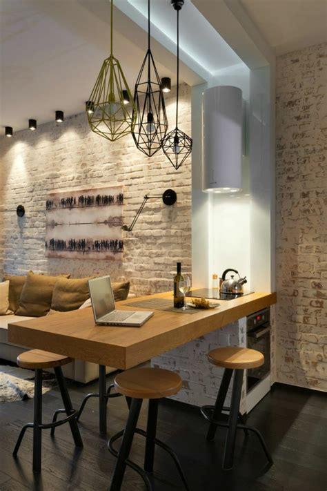 briques cuisine le mur en brique décors spectaculaires archzine fr