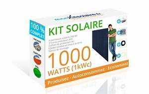 Kit Panneau Solaire Autoconsommation : kit solaire 1000w le moins cher du web ~ Premium-room.com Idées de Décoration