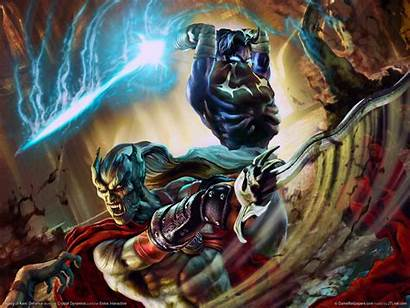 Kain Reaver Soul Legacy Raziel Omen Blood