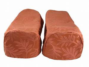 pair terracotta arm cap chair settee covers decorative With chair arm cap covers