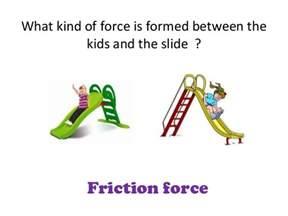 Kids Friction Force