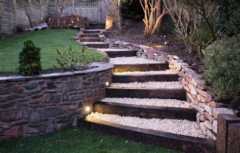 amenager  escalier de jardin idees  astuces
