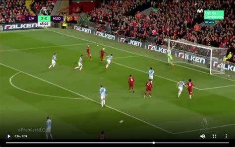 video mane scores lovely header  liverpool  huddersfield