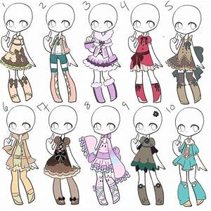 Outfit Adopts 29 *Closed* by Canaddicted on DeviantArt