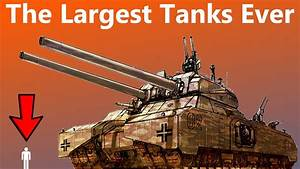 These Are the Largest Tanks Ever Designed - YouTube