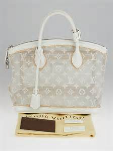 louis vuitton limited edition white monogram transparence