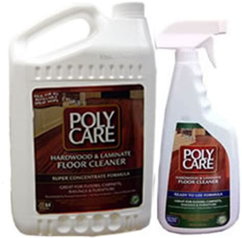 The Flor Stor   Poly Care Hardwood/Laminate Floor Cleaners