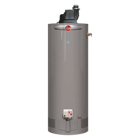 Rheem Residential Gas Water Heater, 500 Gal Tank