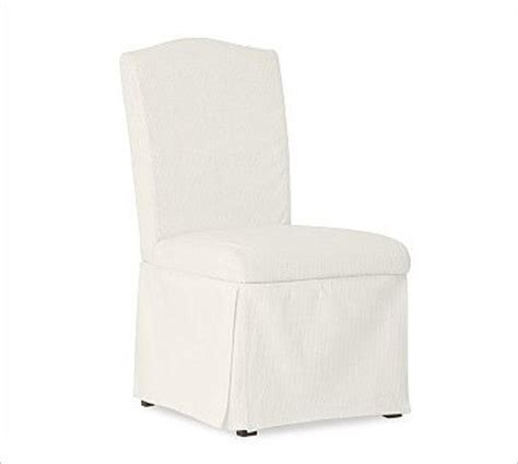 ryden desk chair slipcover organic cotton twill white
