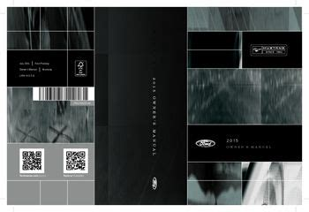ford mustang owners manual   pages
