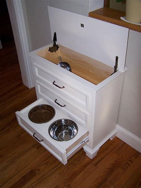 Pet Food Cabinet With Bowls by 10 Creative Diy Bowl Ideas For Your Pet