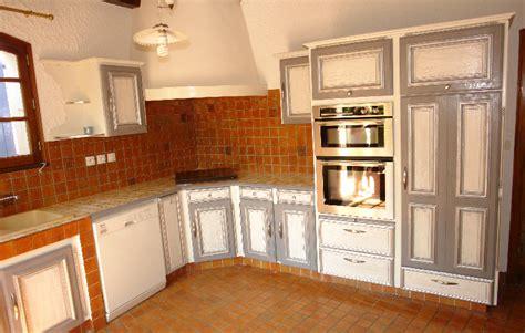 renovation meuble cuisine en chene rénovation cuisine