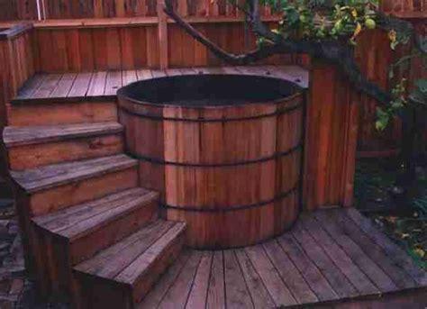 redwood soaking tub 24 best images about horn miller on decks