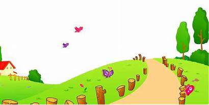 Clipart Way Pathway Grass Path Background Clip