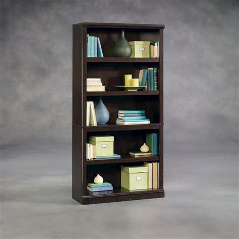 Sauder Select Jamocha Wood 5shelf Split Bookcase At Menards®