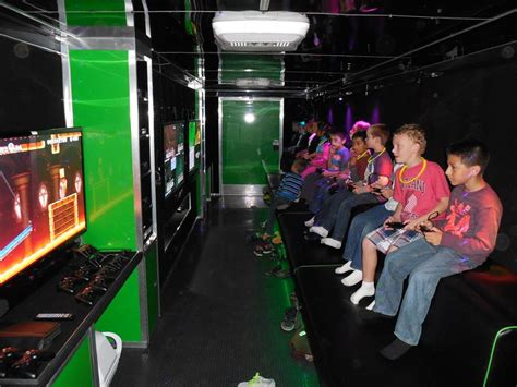 Mobile Video Game Truck Birthday Party in Augusta Georgia
