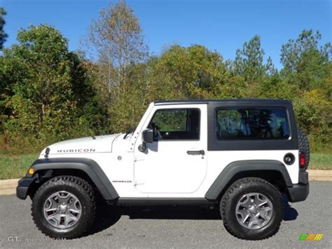 white jeep 2016 2016 bright white jeep wrangler rubicon 4x4 111213001
