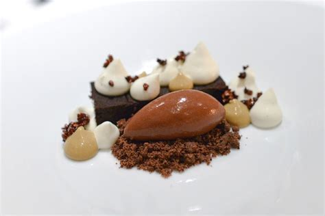 Home > recipes > fine desserts. Gordon Ramsay's Chocolate marquise | Fancy desserts recipes, Fine dining desserts, Desserts