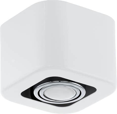 eglo 93011a toreno modern glossy white chrome halogen