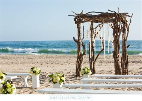 southern california beach wedding venue  malibu