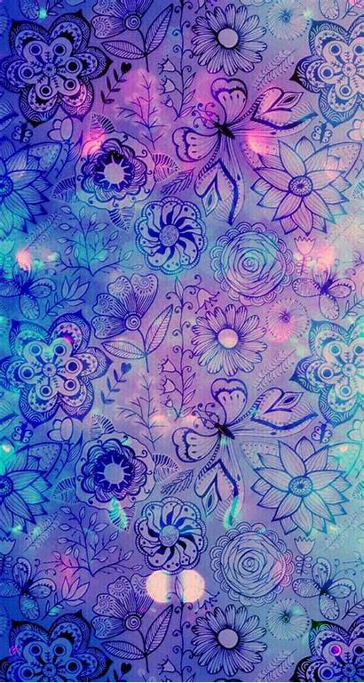 Purple Fantasy Iphone Wallpapers Pretty Butterfly