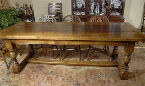 8 ft farmhouse table 8 ft english oak farmhouse refectory table antique