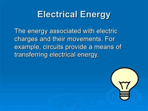 definition of light energy energy what every 5th grader should