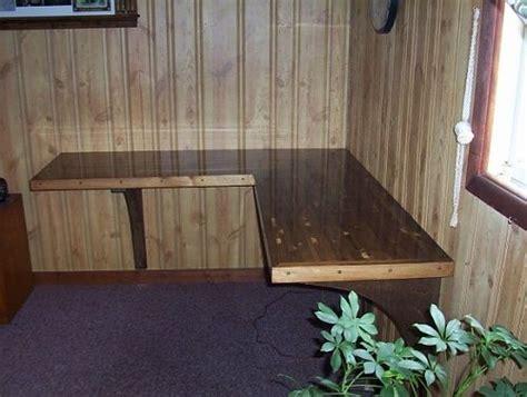 diy floating desk  shape shaped desk question riuef