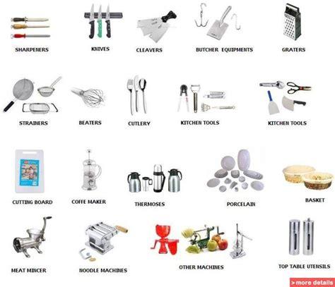 top ten kitchen knives kitchen utensils equipment names cooking utensils