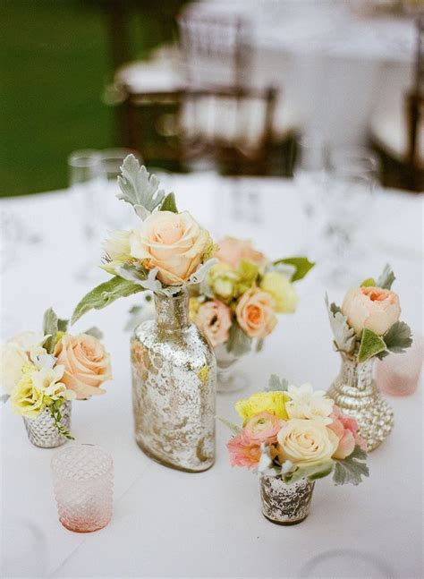 wedding centerpiece vases 20 inspiring vintage wedding centerpieces ideas
