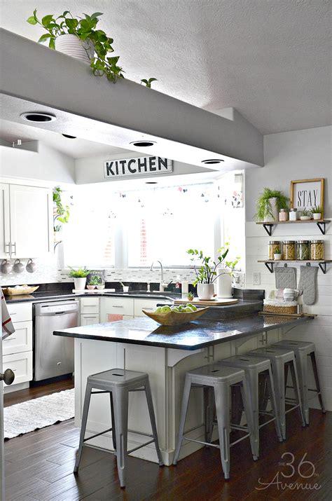 Decorating Ideas For White Kitchen by White Kitchen Pink Kitchen Decor The 36th Avenue