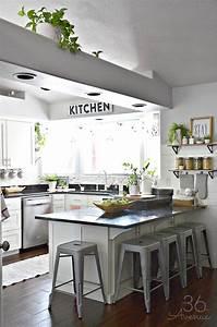 White, Kitchen, U2013, Pink, Kitchen, Decor