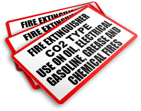- Fire Extinguisher Co2 Type Use On Oil