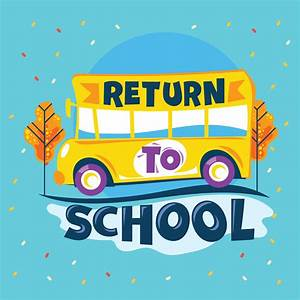 return to school phrase school go to road school