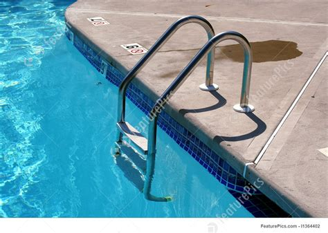 Swimming Pool Ladder Picture