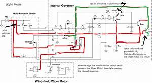 Wiring  1994 Ford Explorer Wiper Motor Wiring Diagram  Emergency Flashers  Air Conditioner
