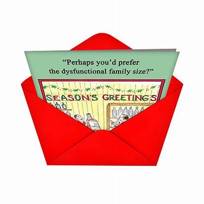 Dysfunctional Funny Envelopes Cards