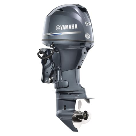 Yamaha Boat Motors Four Stroke by Yamaha 60 Hp High Thrust Outboard Motor High Thrust Four