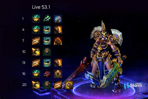 Currently best in wild rift also known as god tier champions. Sonya | Talent Calculator Psionic Storm - Heroes of the Storm
