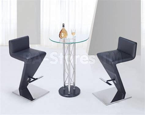 modern 3 pc bar set with unique bar stool modern