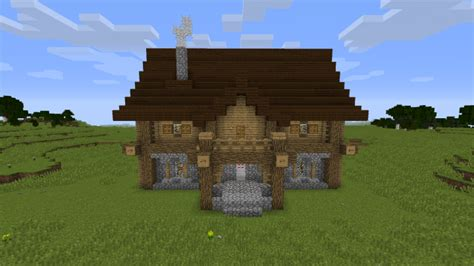large farm house minecraft map