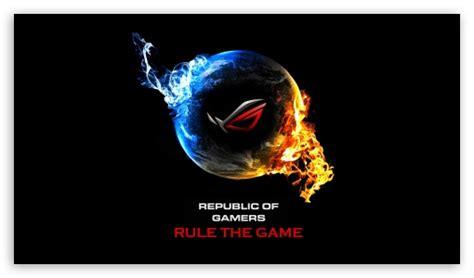asus republic  gamers  hd desktop wallpaper