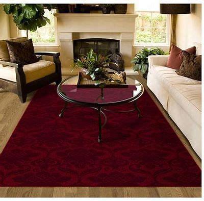 Living Room With Burgundy Rug area rug carpet burgundy pattern lounge dining bedroom