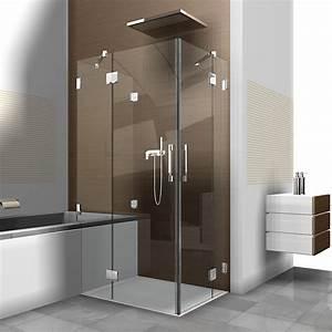 Spiegel Mit Schräge : badezimmer dusche mit schrage raum und m beldesign ~ Michelbontemps.com Haus und Dekorationen