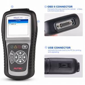 Autel Ml519 Obd2 Read  U0026 Erase Code Reader Diagnostic